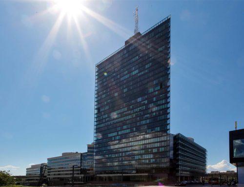 1 450 kvm på plan 16 och 17 i Kista Science Tower